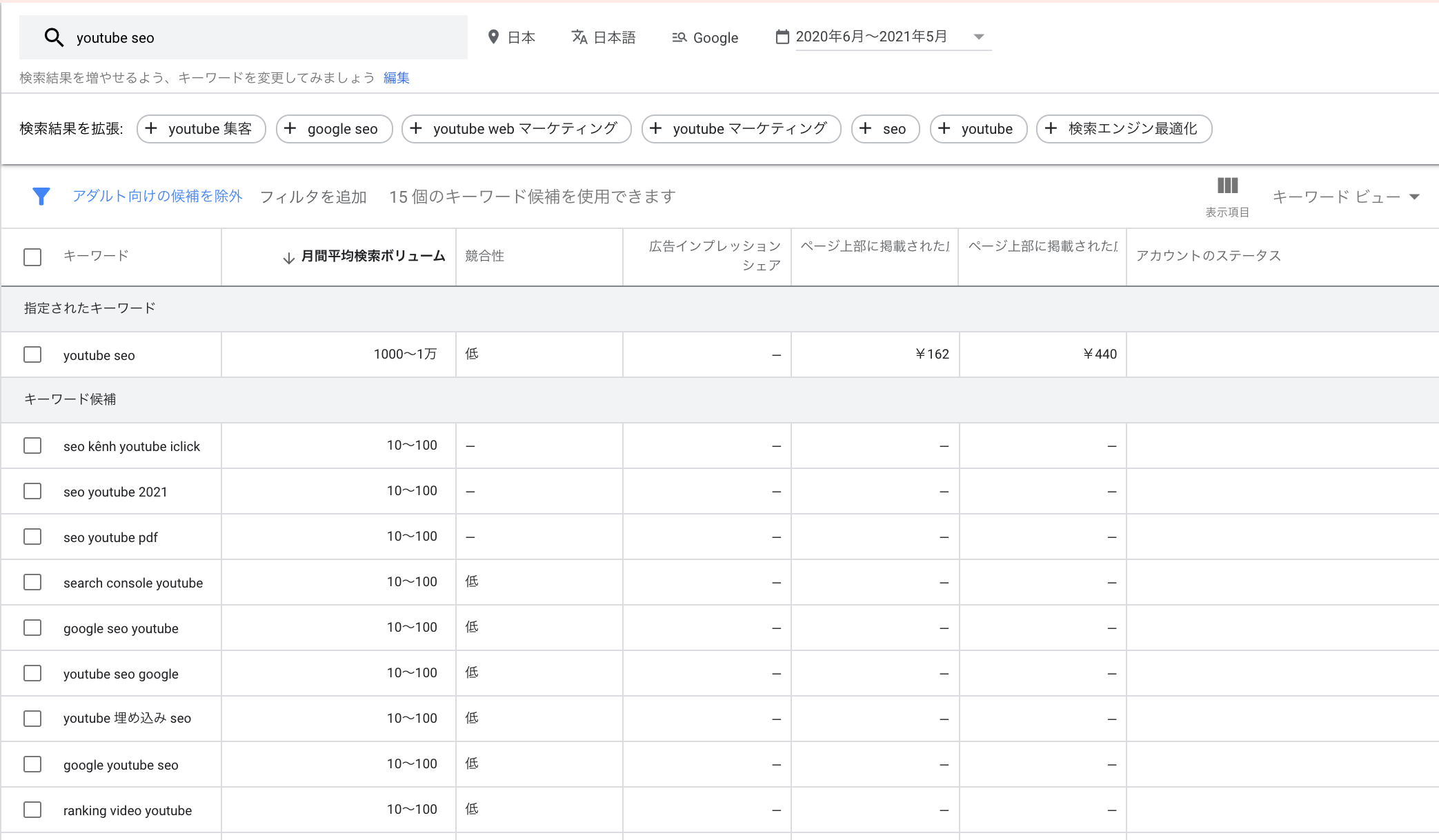 youtubeseo-tool-keywordplannner