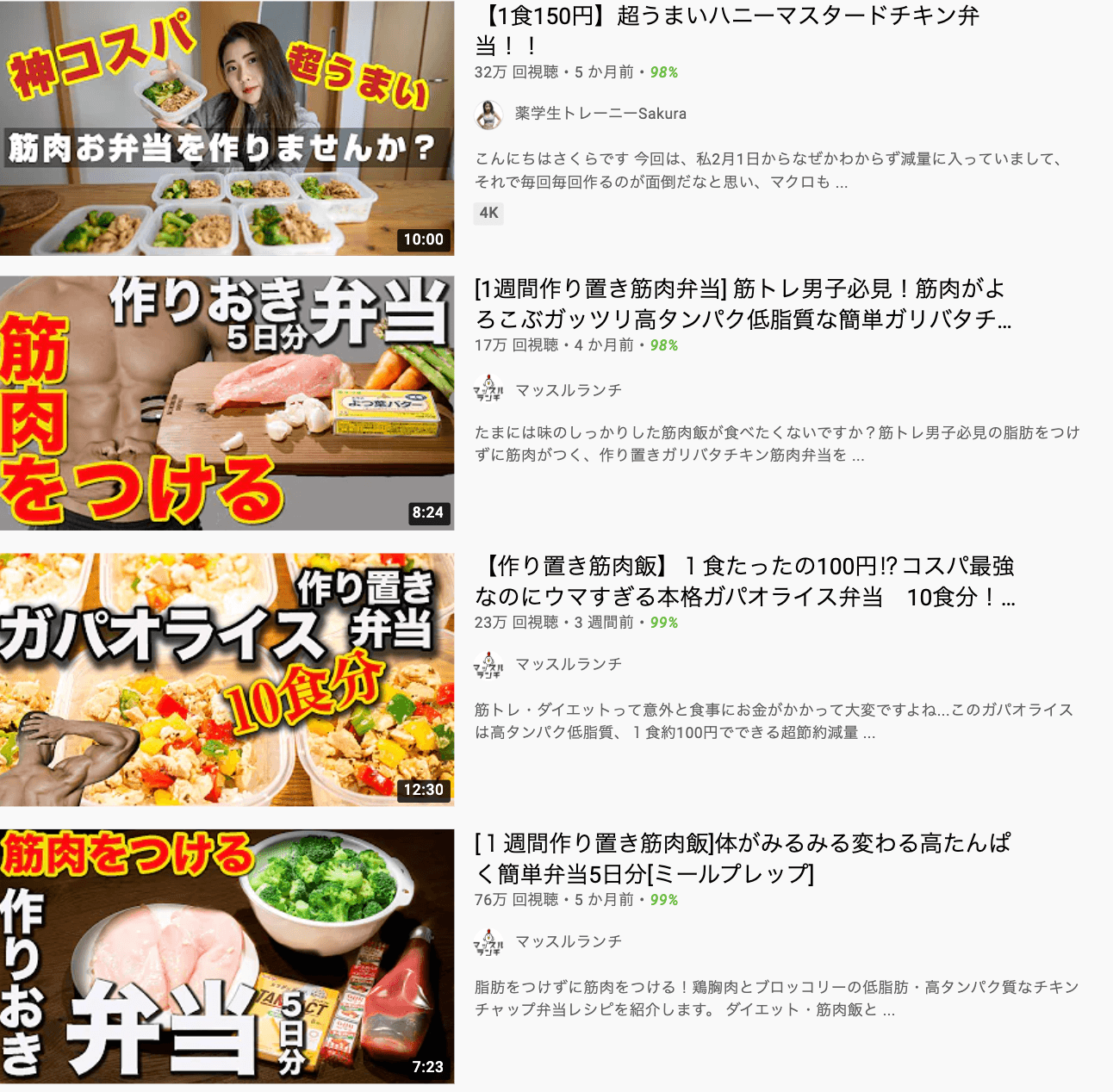 youtube-training lunch-top display