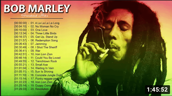 youtube-Bob Marley-conspicuous thumbnails